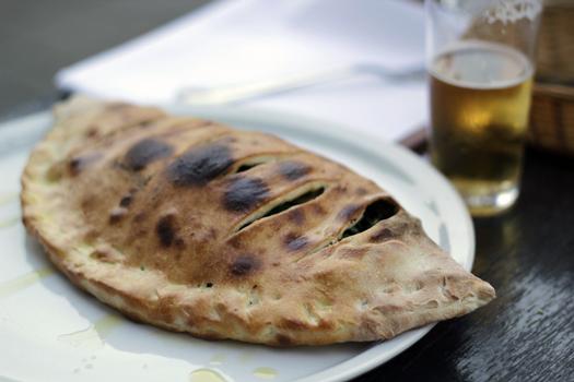 Vegan pizza @ Yam Yam A'dam