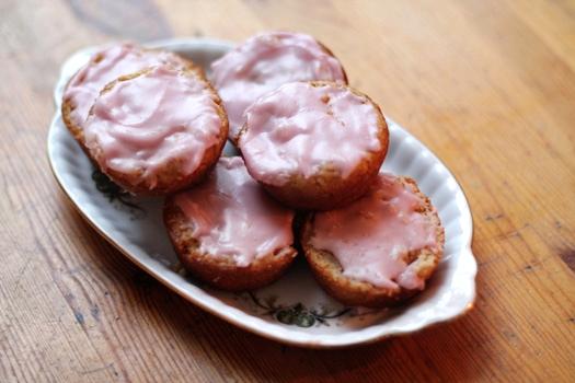 vegan roze koeken